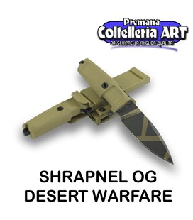 Extrema Ratio - Shrapnel OG - Desert Warfare - Coltello militare