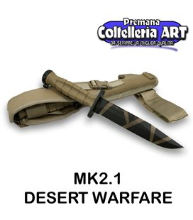 Extrema Ratio - MK2.1 - Desert Warfare - Coltello militare