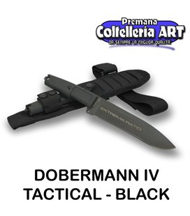 Extrema Ratio - Dobermann IV Tactical- Black - Coltello militare