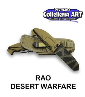 Extrema Ratio - RAO - Desert Warfare - Coltello