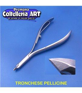 Coltelleria ART - Tronchesino per le pelli 5 mm - inox
