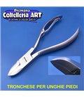 Coltelleria ART - Tronchesino per unghie piedi 20 mm - inox