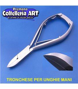 Coltelleria ART - Tronchesino per unghie mani 16 mm - inox