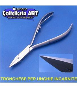 Coltelleria ART - Tronchesino per unghie incarnite 18 mm - inox