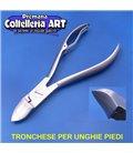 """Coltelleria ART - Tronchesino per unghie piedi 20 mm con """"scalino"""" - inox"""