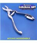 Coltelleria ART - Tronchesino per unghie mani bovolo 15 mm - inox