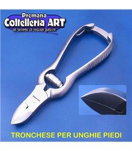 Coltelleria ART - Tronchesino per unghie piedi bovolo 18 mm - inox