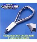 Coltelleria ART - Tronchesino per unghie mani e incarnite 18 mm - inox