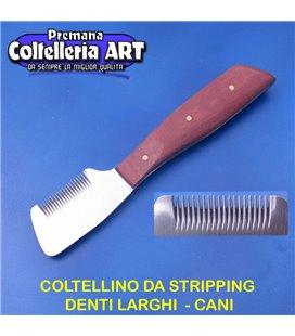 Coltelleria ART - Coltellino da stripping 11 - Denti larghi