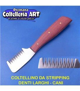 Coltelleria ART - Coltellino da stripping 10 - Denti larghi