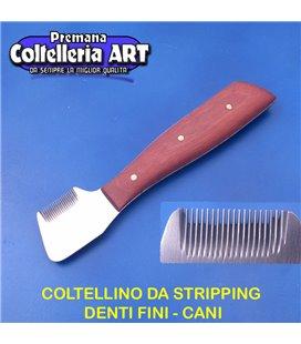 Coltelleria ART - Coltellino da stripping 9 - Denti fini