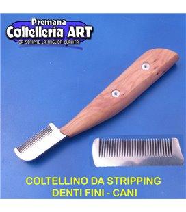 Coltelleria ART - Coltellino da stripping 16 - Denti fini