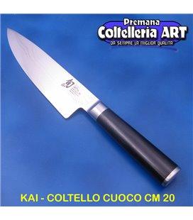 Kai - Coltello Trinciante cm 20 - Damascato