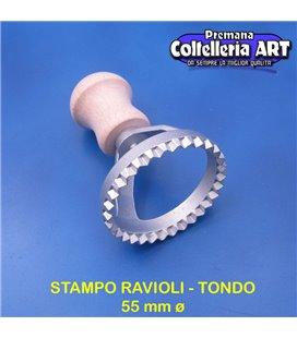eppicotispai - Stampo per ravioli tondo piccolo 55 mm ø - alluminio