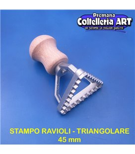 eppicotispai - Stampo per ravioli Triangolare piccolo 45 mm - alluminio
