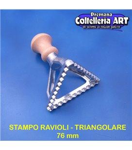 eppicotispai - Stampo per ravioli Triangolare grande 76 mm - alluminio
