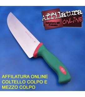 Affilatura coltello colpo