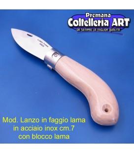 Mod. Lanzo in Faggio - Inox - Block