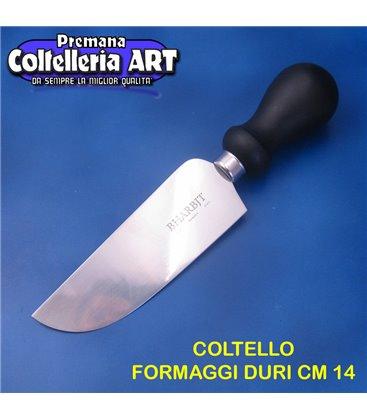 Bharbjt - coltello Roma per formaggi duri cm 14