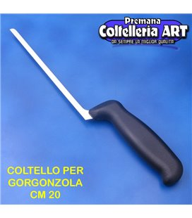 Bharbjt - coltello per gorgonzola lama fine cm 20