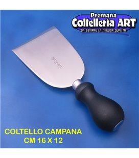 Bharbjt - coltello Campana per formaggi duri cm 16 x 12