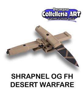 Extrema Ratio - Shrapnel OG FH - Desert Warfare - Coltello militare