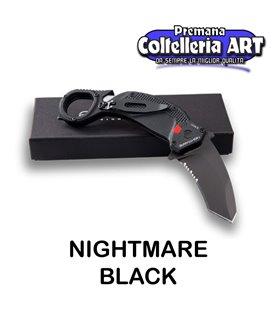 Extrema Ratio - Nightmare - Karambit - Black - Coltello