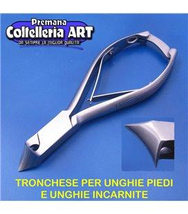 Coltelleria ART - Tronchesino per unghie piedi e incarnite 23 mm - inox