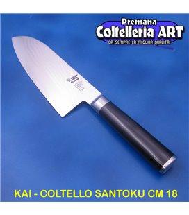 Kai - Coltello Santoku cm 19 - Damascato