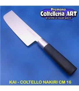 Kai - Coltello Nakiri cm 16 - Wasabi