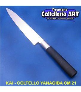Kai - Coltello Yanagiba - Sushi cm 21 - Wasabi