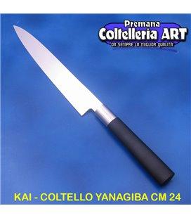 Kai - Coltello Yanagiba - Sushi cm 24 - Wasabi