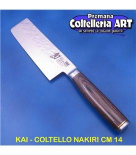Kai - Coltello Nakiri cm 14 - Damascato - TDM
