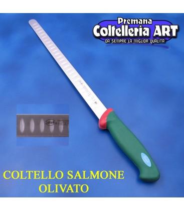 Coltello Salmone olivato cm.31