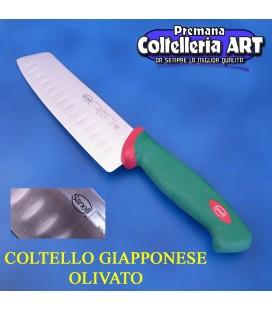 Coltello Giapponese Olivato cm.18