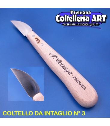 Coltello intaglio Codega n°3 mm.40