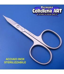 Forbice inox per unghie doppio uso