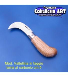 Mod. Valtellina in Faggio - Carbonio - No Block cm 5