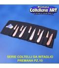 Confezione coltelli intaglio Codega