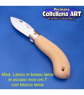Mod. Lanzo in Bosso - Inox - Block