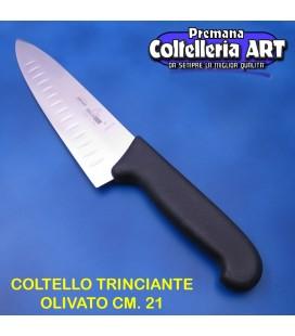 Coltello Trinciante olivato cm. 21 - Maglio nero