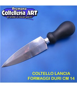 Bharbjt - coltello Milano per formaggi duri cm 14