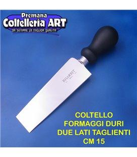 Bharbjt - coltello Vercelli rettangolare con due lati taglienti cm 15