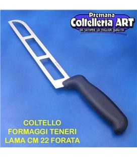 Bharbjt - coltello per formaggi teneri - lama forata cm 22