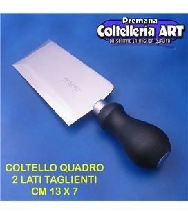 Bharbjt - coltello veneto Quadro con due lati taglientii cm 13 x 7