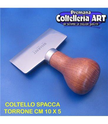 Bharbjt - coltello spacca torrone e cioccolato cm 10 x 5