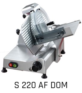 FAC - Affettatrice a gravità S 220 AF DOM - affilatoio incorporato