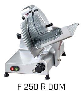 FAC - Affettatrice a gravità cm 250 RIDOTTA - DOMESTICA - affilatoio incorporato